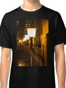 Perspective Study - Elegant Glass Brass and Iron Wall Sconces Left Classic T-Shirt