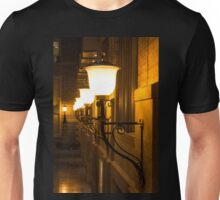 Perspective Study - Elegant Glass Brass and Iron Wall Sconces Left Unisex T-Shirt