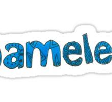 Shameless Logo Sticker