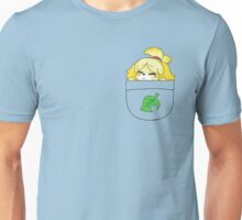 Pocket Isabelle + Leaf Unisex T-Shirt