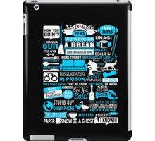 Friends - All in one tshirt  iPad Case/Skin