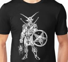 Battle Goat Icon Death Metal Art Unisex T-Shirt