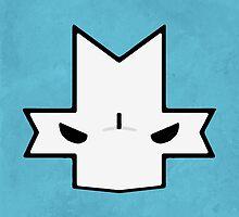 Crasher Knight Face (Blue) by Greytel