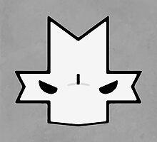 Crasher Knight Face (Grey) by Greytel