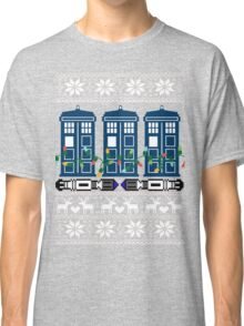 Doctor who christmas ugly sweater version Classic T-Shirt