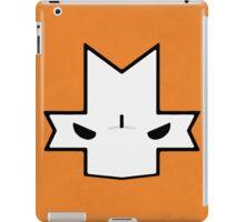 Crasher Knight Face (Orange) iPad Case/Skin