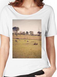 Kangaroo Flats Women's Relaxed Fit T-Shirt