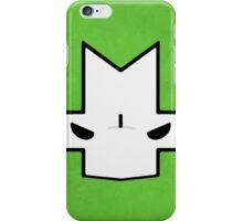 Crasher Knight Face (Green) iPhone Case/Skin