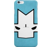 Crasher Knight Face (Blue) iPhone Case/Skin