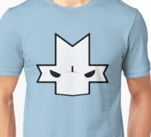 Crasher Knight Face (Blue) Unisex T-Shirt