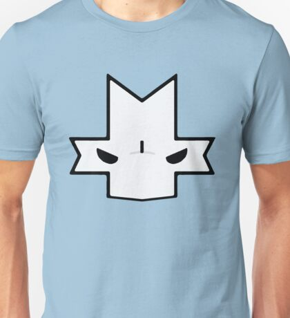 Crasher Knight Face (Blue) Unisex T-Shirt