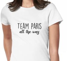 Gilmore Girls - Team Paris Womens Fitted T-Shirt
