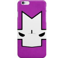 Crasher Knight Face (Purple) iPhone Case/Skin