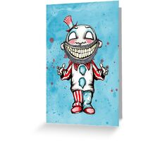 The Murder Captain  Greeting Card