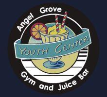 Angel Grove Youth Center - Gym & Juice Bar One Piece - Short Sleeve