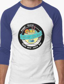 Angel Grove Youth Center - Gym & Juice Bar Men's Baseball ¾ T-Shirt