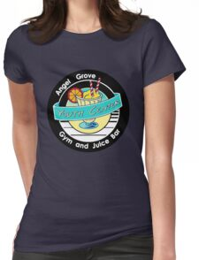 Angel Grove Youth Center - Gym & Juice Bar Womens Fitted T-Shirt