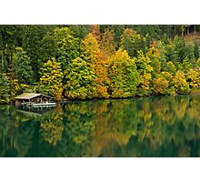 The Alpsee in Fall Photographic Print