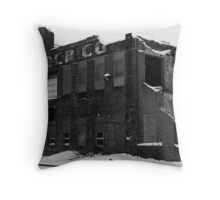 Living like there's no tomorrow..heavy metal daze Throw Pillow