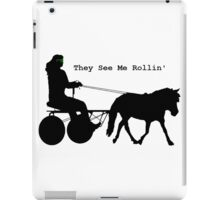 They See Me Rollin'  iPad Case/Skin