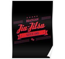 BJJ 3D Banner Poster