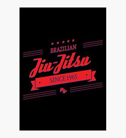 BJJ 3D Banner Photographic Print