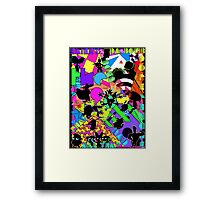 The 90s called...they want their cartoons back! Framed Print