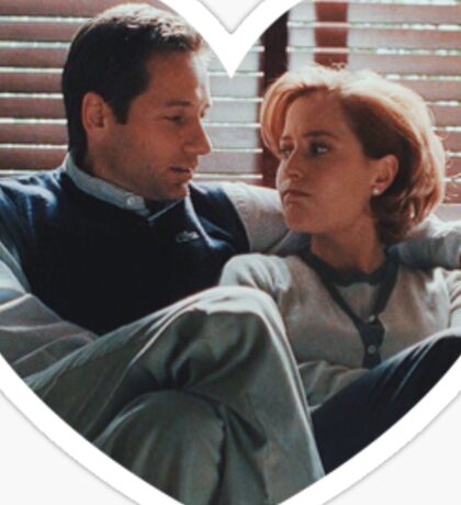 mulder & scully Sticker