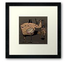 curmudgeon Framed Print