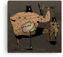 curmudgeon Canvas Print
