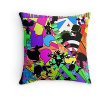 The 90s called...they want their cartoons back! Throw Pillow
