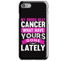 Cancer Survivior Womens T-Shirt iPhone Case/Skin