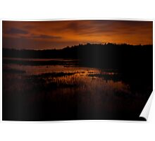 Edge of nightfall – Great Meadows series Poster