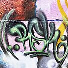 Graffiti Tags - Street Art Wollongong by webgrrl