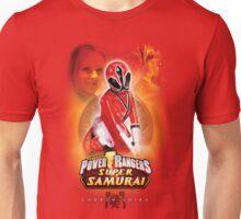 POWER RANGERS SUPER SAMURAI - LAUREN SHIBA (FEMALE RED RANGER) Unisex T-Shirt