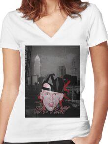 Est 19XX - 2.0 Women's Fitted V-Neck T-Shirt