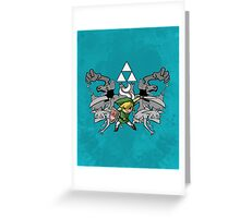 Toon Link Greeting Card