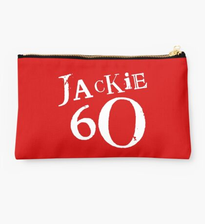 Red Holiday Editions Jackie 60 Logo  Studio Pouch