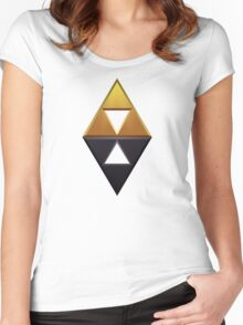 A Link Between Worlds Women's Fitted Scoop T-Shirt