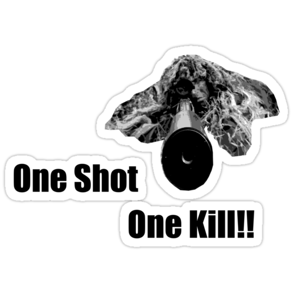 Sniper - One Shot One Kill by Craig Stronner