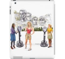 Big Bang Theory Mount Rushmore iPad Case/Skin