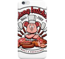Oolong Butchery iPhone Case/Skin
