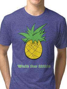 Wait For Iiiiit Tri-blend T-Shirt