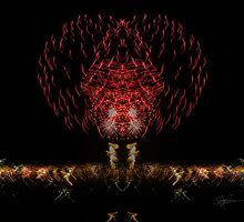 The Rorschach Fireworks by secondhand lipstick