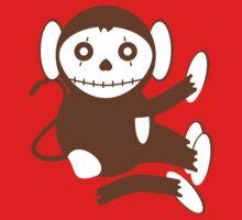 Cute Dead Monkey Kids Tee