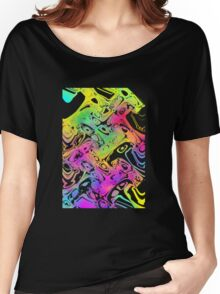 marbled colours Women's Relaxed Fit T-Shirt