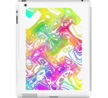 marbled colours iPad Case/Skin