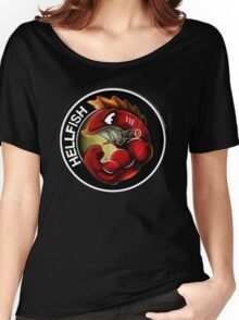 The Flying  Hellfish! Women's Relaxed Fit T-Shirt