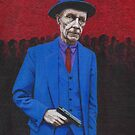 William S. Burroughs by Conrad Stryker