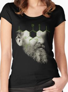 when i grow up i want to be the barfly in the ointment of entropy Women's Fitted Scoop T-Shirt
